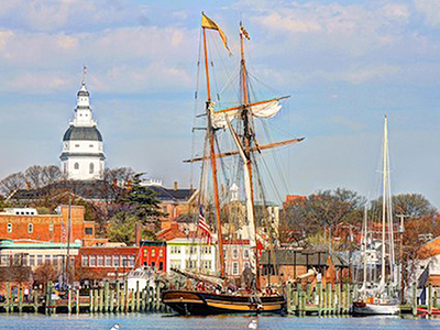 Pride of Baltimore in Annapolis