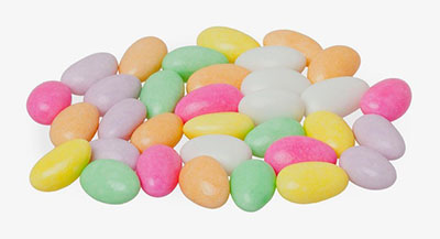Dragees Jordan Almonds