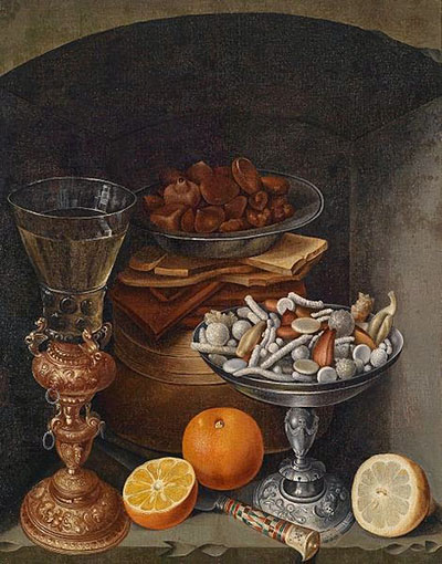 Georg Flegel Still life with candy