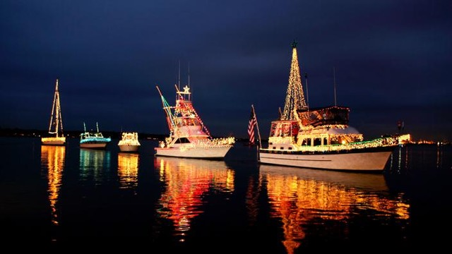 St. Michaels Boat parade