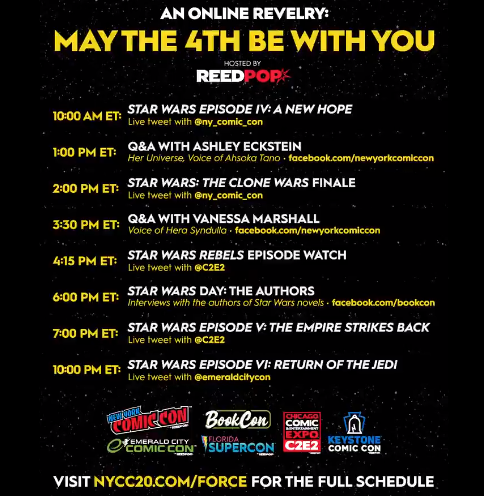 May The 4th Be With You Chesapeake Family