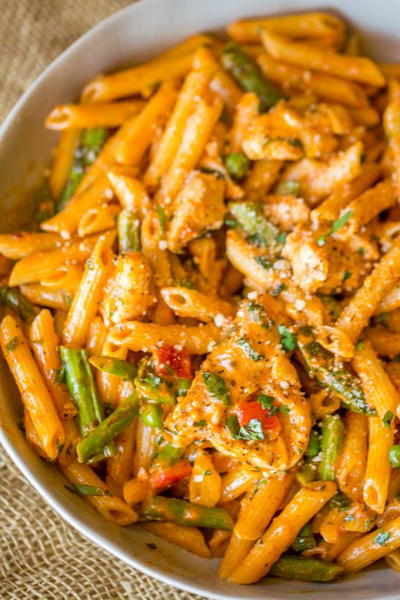 Spicy Chicken Chipotle Pasta from The Cheesecake Factory Large400 ID 2465472