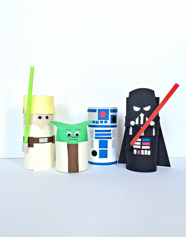 hellowonderful toilet paper tube star wars 01