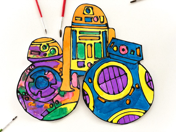 star wars paper craft for kids image 2