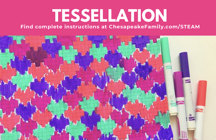 Tessellation project with markers