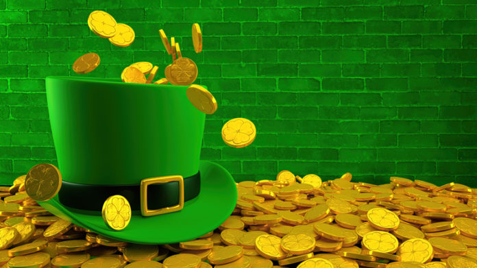 St. Patrick's Day, Top Hat, Gold, Green Color, Award