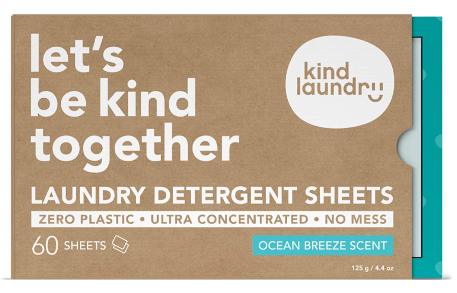 Kind Laundry- Laundry Detergent Sheets